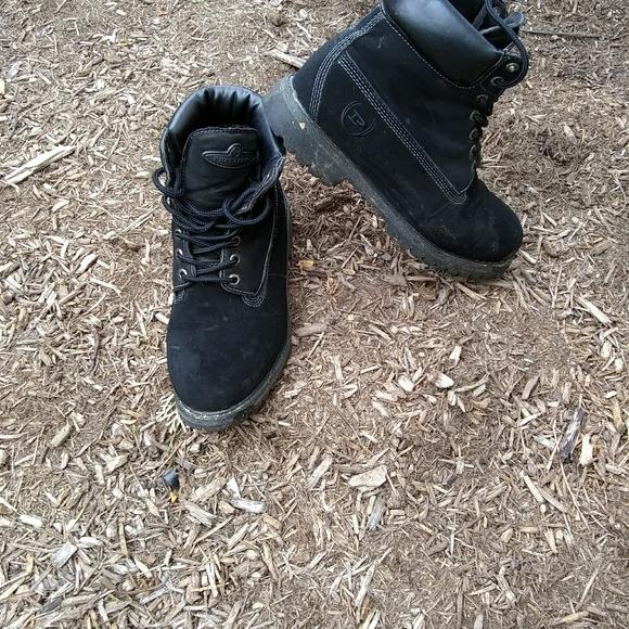 d84da01536f Phat Farm Men's Lace-Up Work Style Boots 9.5